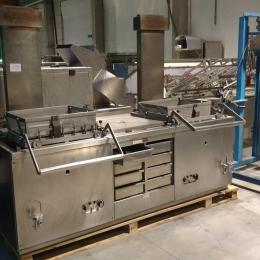 Industrial double fryer