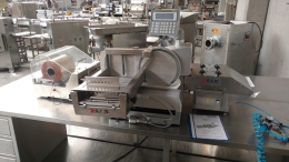 S.A.M. Automatic cutting and packaging machine