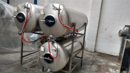 Tank beer installation