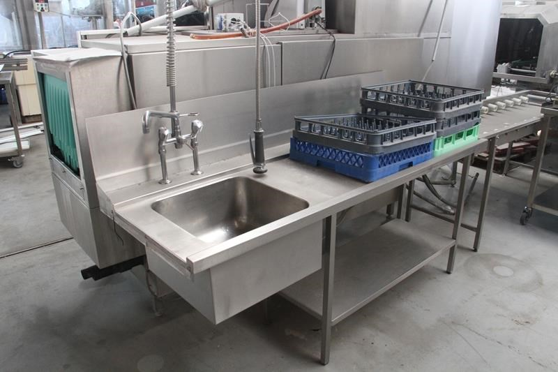Conveyor Dishwasher Meiko Second Hand K200vap Bart