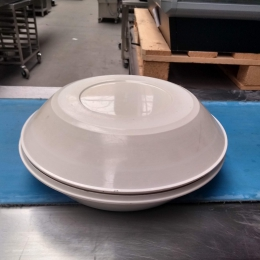 Plastic plates with lid