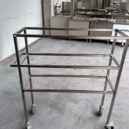 Mobile s/s rack