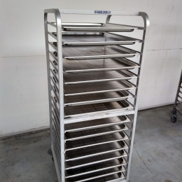 Mobile alu rack