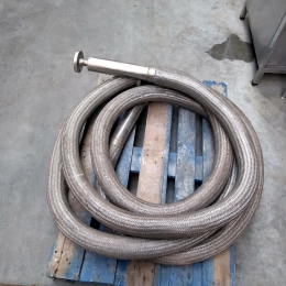 Double-walled s/s flexible hose