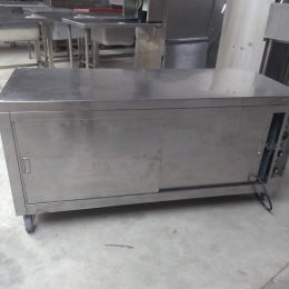 mobile heating cabinet