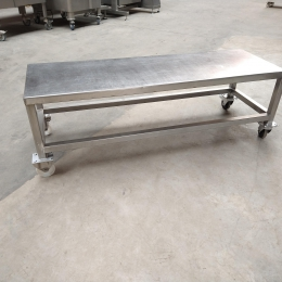 Mobile s/s table