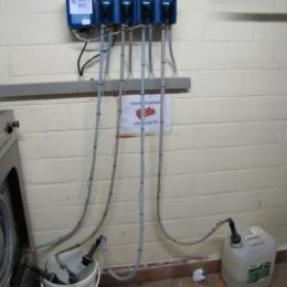 Zeepdoseersysteem