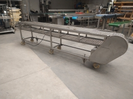 Mobile S/S conveyor belt Gernal
