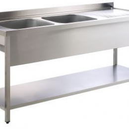 Tables / racks / sinks